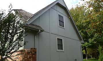 Stucco Panel Siding In Overland Park Ks Paint Pro Inc