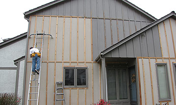 Residential Wood Rot In Overland Park Ks Paint Pro Inc